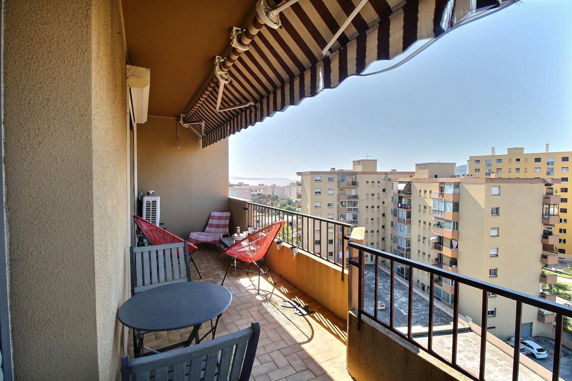 Ajaccio Appartement T3 Pietralba terrasse