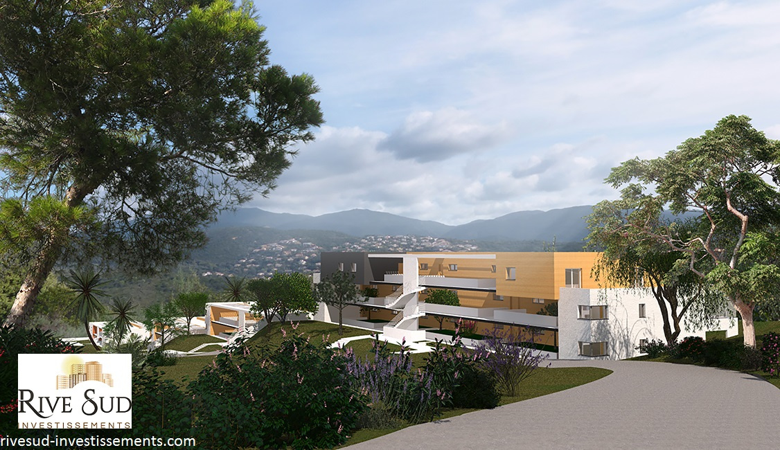 La residence du fort porticcio appartement programme neuf