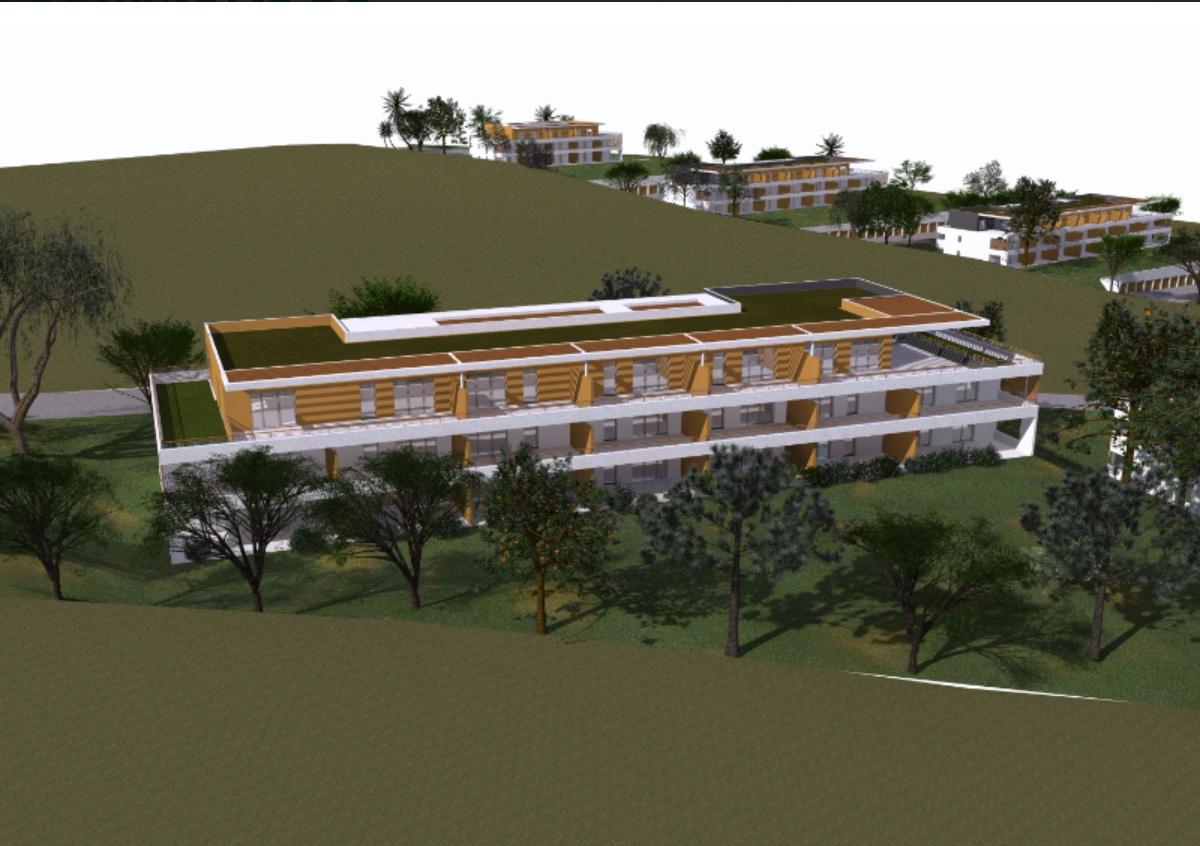 La residence du fort Porticcio Garage vue mer programme neuf