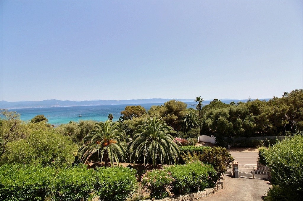 Villa vue mer sanguinaires Ajaccio