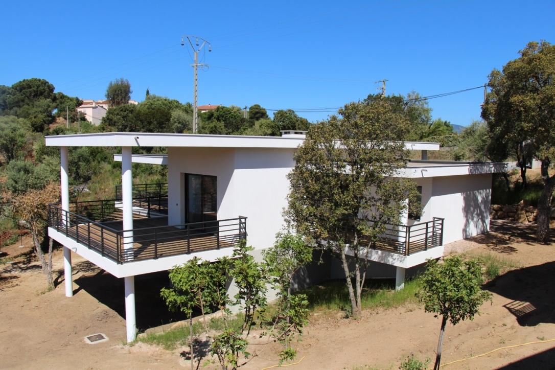 Villa Porticcio Vue mer Rive sud investissements Terrain