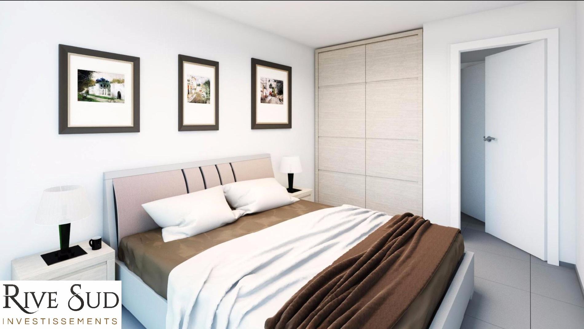 La residence du fort porticcio Chambre T3  appartement programme neuf