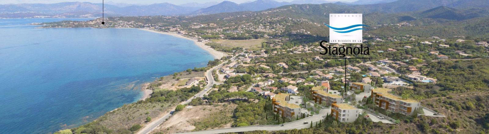 Les rivages de la Stagnola Programme neuf Porticcio